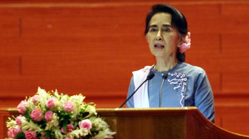Aung San Suu Kyi. (Photo: AP)