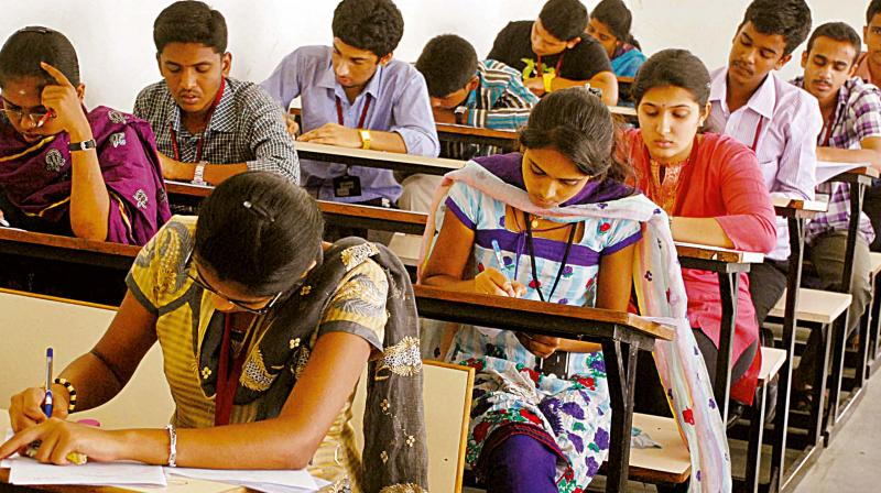 CBSE received handwritten notes with answers of Economics paper