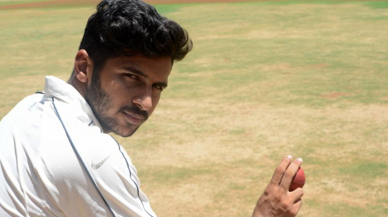 Shardul Thakur has led the Mumbai side with aplomb and his figures this Ranji Trophy season are staggering, 41 wickets in 11 matches — the highest wicket-taker for Mumbai. (Photo: Rajesh Jadav/DC)