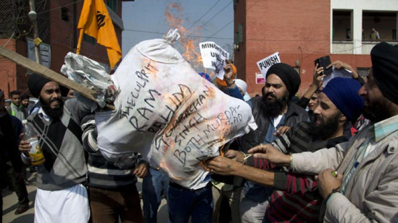 The increased vigilance by security forces and the confidence building measures adopted by the Sikh community helped in rooting out the Khalistan movement. (Photo: PTI)