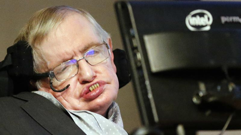 According to Conspiracy Theorists, Professor Hawking, Director of Research at the Centre for Theoretical Cosmology within the University of Cambridge, died in 1985 - three years before the publication of his best-selling book A Brief History of Time. (Photo: AP)