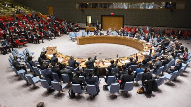 """The Ambassador said the United Nations was created with the """"very purpose to prevent and stop these injustices -  injustices such as the denial of fundamental human rights to the people of Palestine and Kashmir""""."""