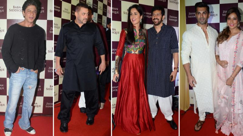It's that time of the year again, where the biggest stars meet under the same roof at Baba Siddique and Zeeshan Siddique's annual Iftaar dinner. Photo: Viral Bhayani