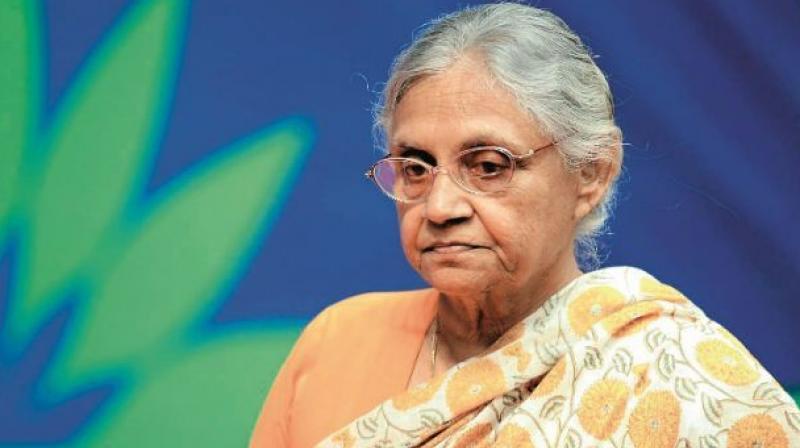 Former Delhi CM Sheila Dikshit. (Photo: PTI)