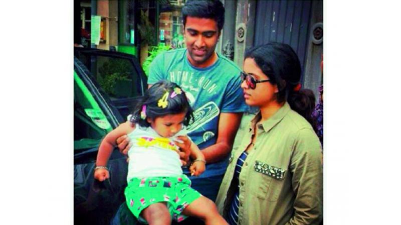 R Ashwin And His Wife Ashwin spindoctor's ...