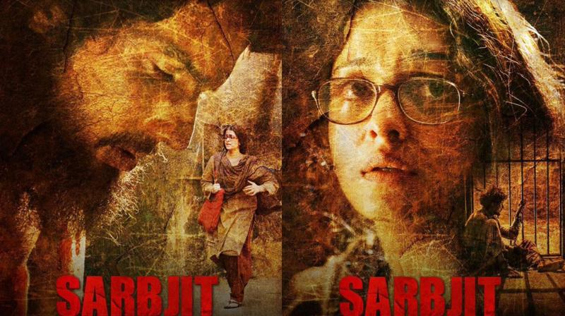 Sarbjit makers release 2 new posters of Aishwarya and Randeep as their film premieres at Cannes.