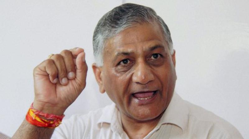 Union Minister, General (retired) V K Singh (Photo: PTI)