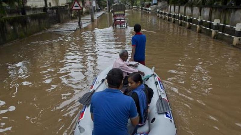 Standing crops in over 14,000 hectares of agricultural land were submerged by the deluge. (Photo: Representational Image/PTI)