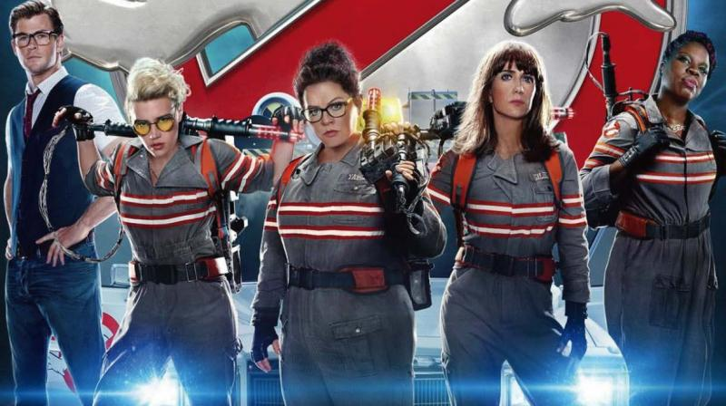 A still from the movie Ghostbusters.