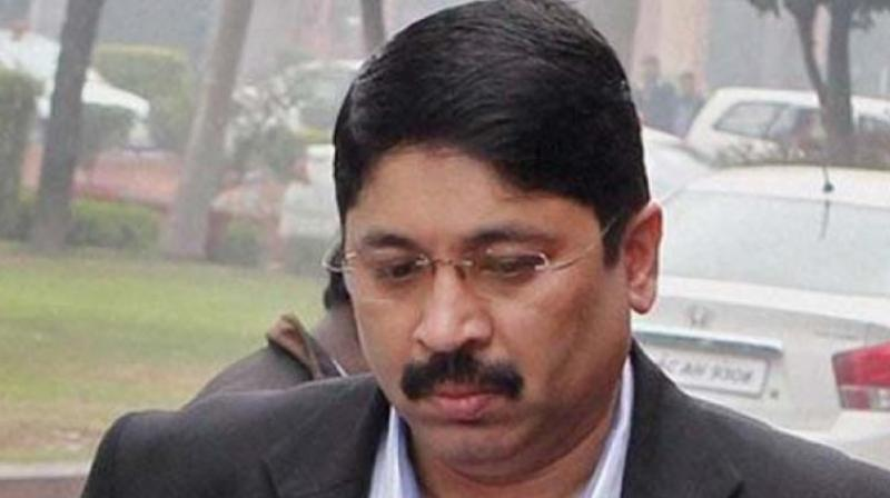 Former telecom minister Dayanidhi Maran (Photo: PTI)