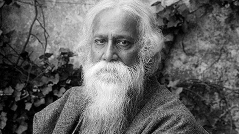 The exhibition titled 'Rabindranath Tagore: Rhythm in Colours' was inaugurated by India's Ambassador to Egypt Sanjay Bhattacharyya. (Photo: File)