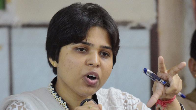 Women's rights activist Trupti Desai (Photo: PTI)