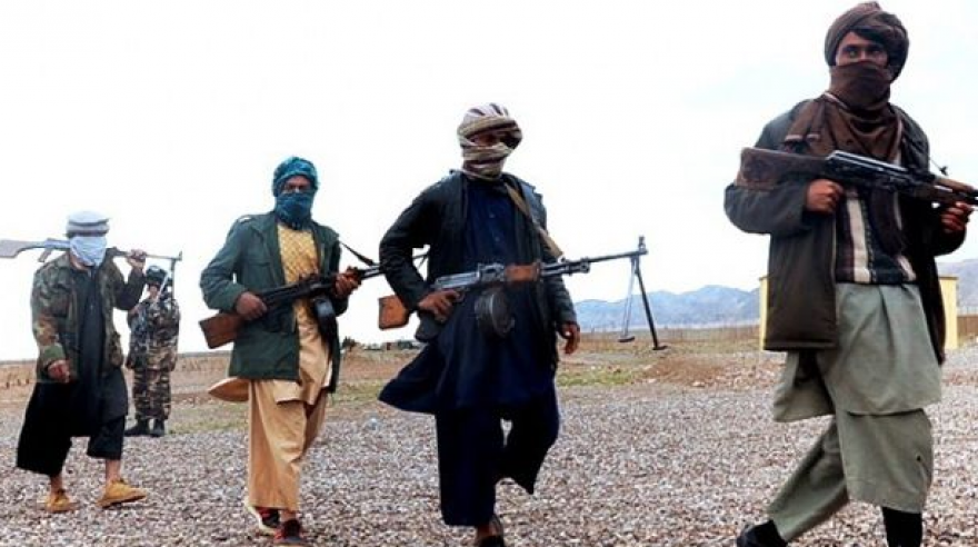 Afghan Taliban militants. (Photo: AFP)