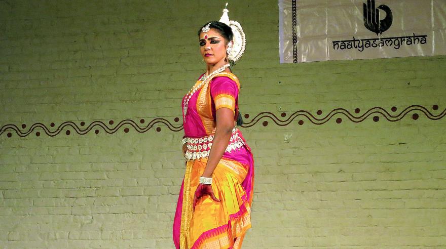 Sandhya who performed the Dashamahavidya segment is from Malaysia.