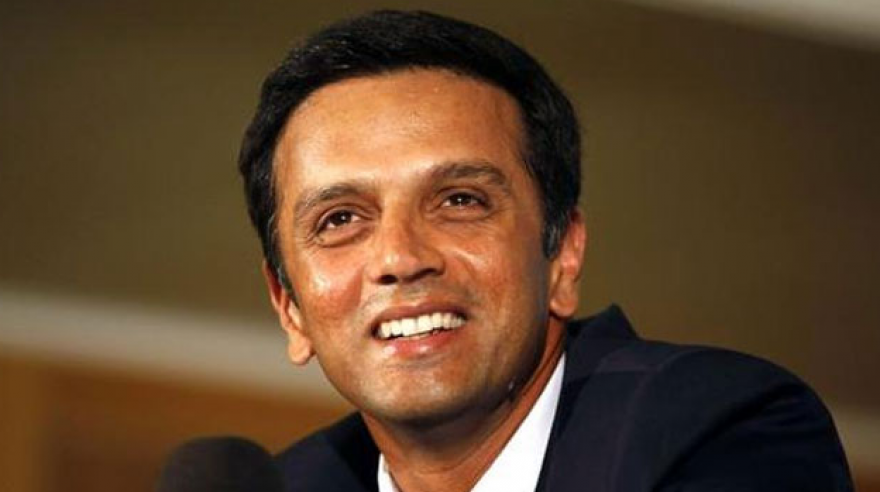 Rahul Dravid's compassionate side too came into focus when he took out time to speak with a patient who was battling with cancer. (Photo: PTI)