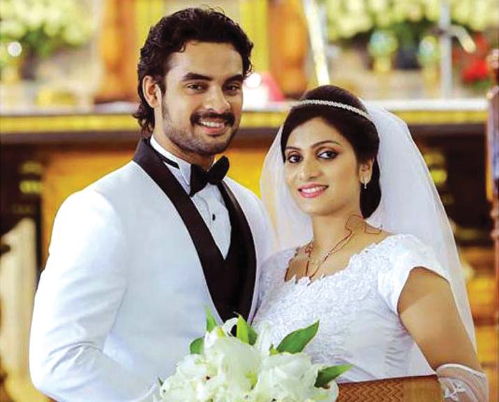 Image result for tovino thomas wedding