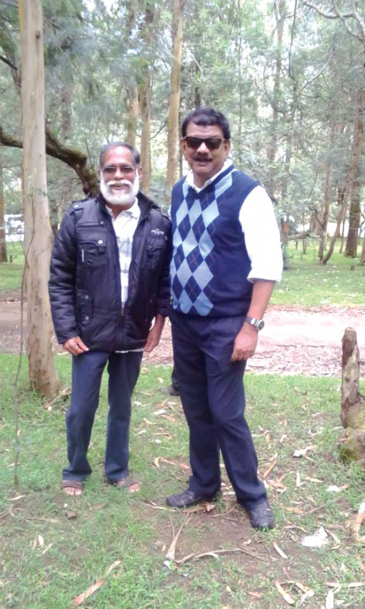 It was around seven months ago, Priyadarsan met his old friend for the last time.