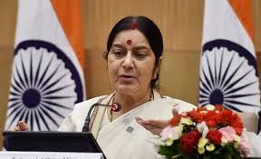 Swaraj referred to the air strikes on terror camps in Pakistan's Balakot following the Pulwama attack and said opposition parties who do not have faith in Prime Minister Narendra Modi were taking his Pakistan counterparts statements for granted. (Photo: File)