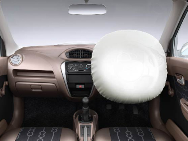 Maruti Suzuki said it will offer driver airbag as an option in Alto 800 and Alto K10