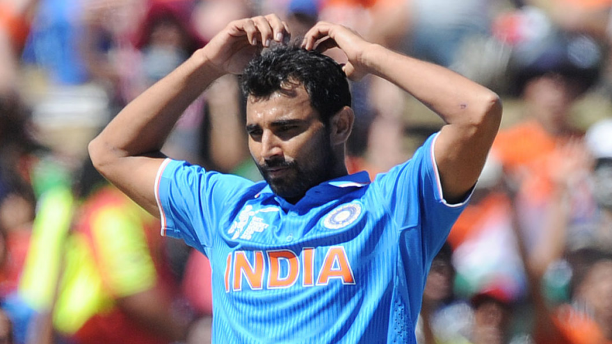 Shami is likely to feature in the team's upcoming games in the World Cup as Bhuvneshwar Kumar is out briefly due to a hamstring injury. (Photo: AP)