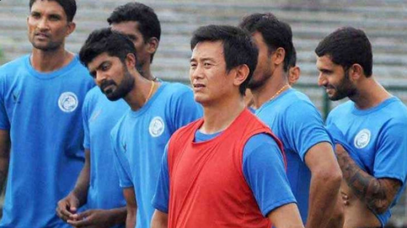Former India football captain Baichung Bhutia retired from India colours in 2011 against South Korea in the AFC Asian Cup. (Photo: PTI)
