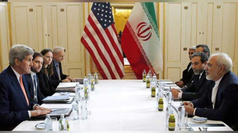 US Secretary of State John Kerry meets with Iranian Foreign Minister Javad Zarif  in Vienna, Austria. (Photo: AFP)