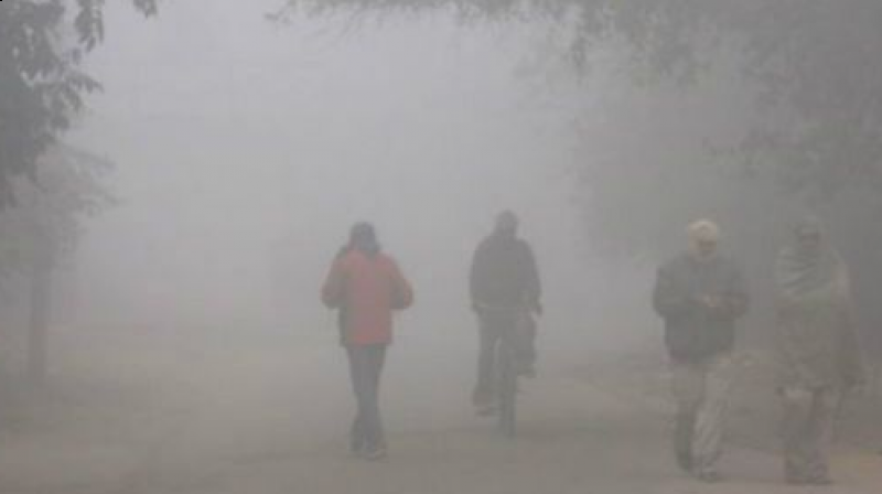 In Delhi, which woke up to a chilly morning, the maximum was 19.2ºC as against 17.2ºC on Saturday, though still a notch below the season's average. (Representational image)
