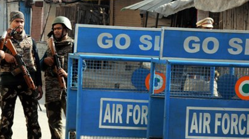 Security personnel at Pathankot airbase (Photo: PTI)