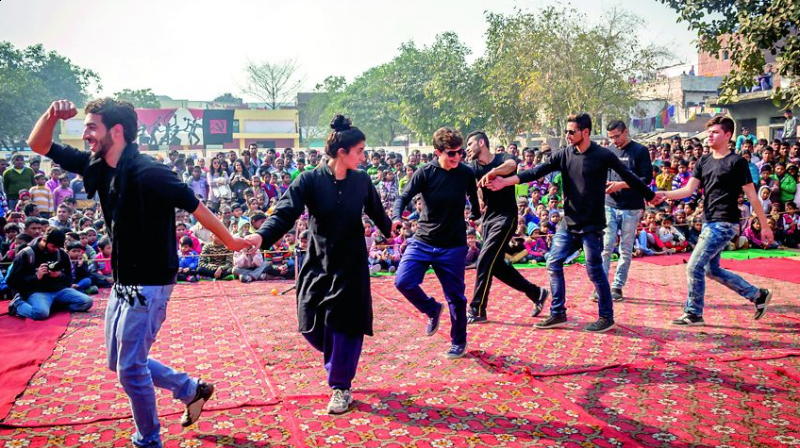 In what could be termed as the largest cultural exchange between India and Palestine, theatre groups Jana Natya Manch and The Freedom Theatre have come together to propagate the idea of freedom and liberation.