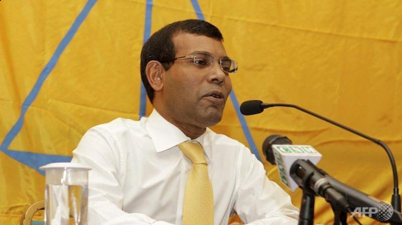 Former Maldives president Mohamed Nasheed. (Photo: AFP)