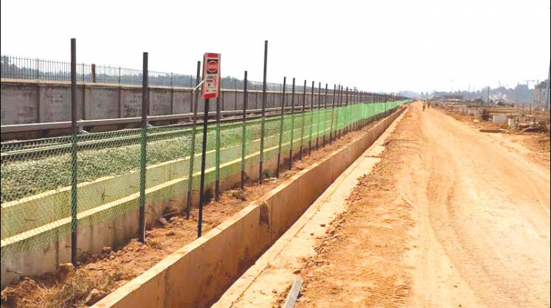 Total land needed for widening of the Vytilla-Pettah stretch: 410 cent