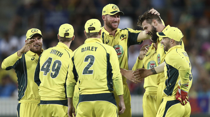 Kane Richardson's five-wicket haul derailed Indian innings and powered Australia to a stunning win. (Photo: AP)