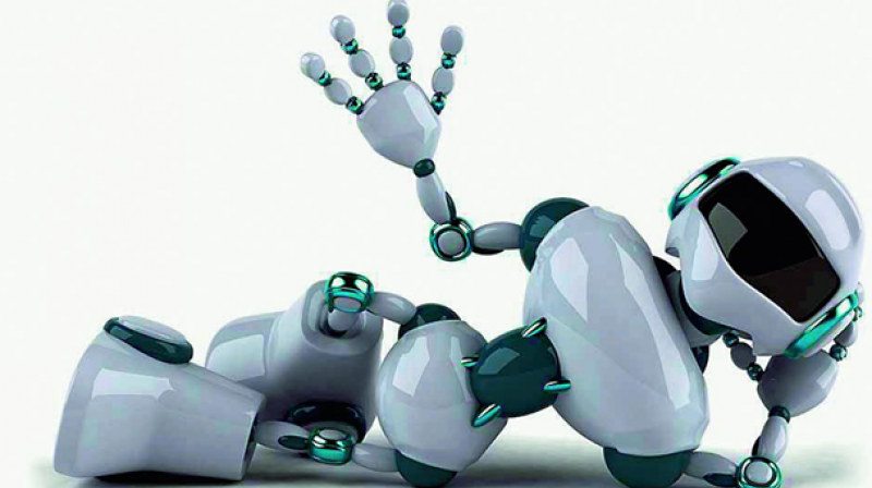 Within the next five years or so swaths of the jobs we take for granted will be done by robots. (Representational image)