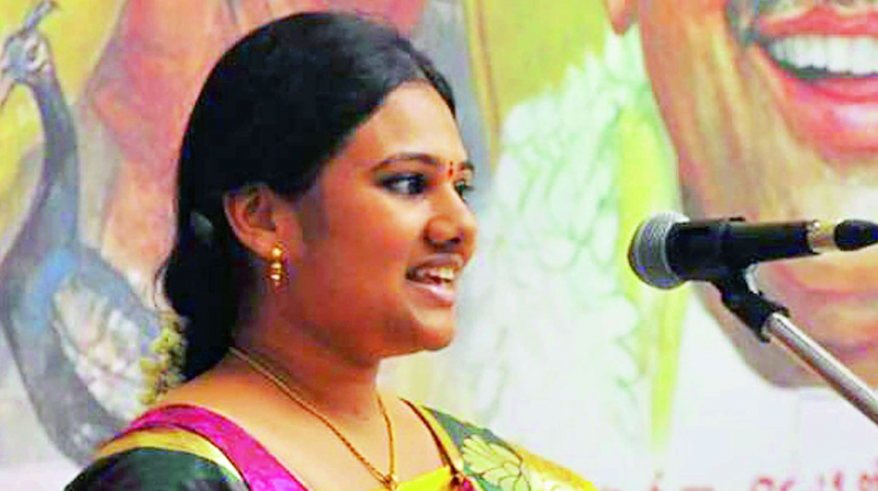 IIT Madras student Lakshmi Pratyusha Vedantam hailing from Guntur went missing on Sunday.