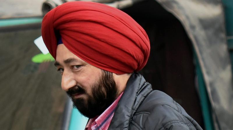 Former Gurdaspur SP Salwinder Singh (Photo: PTI)