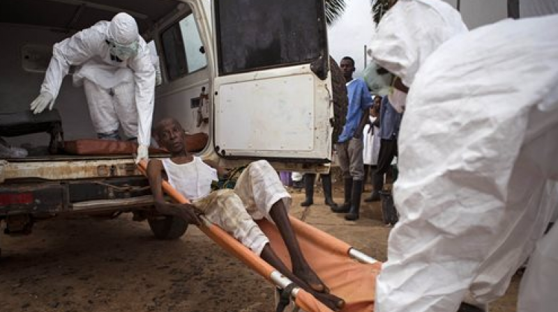 In a vaccination trial during the West African Ebola virus epidemic, only 49 percent of individuals who had been in contact with Ebola virus patients could be vaccinated. (Photo: AP)