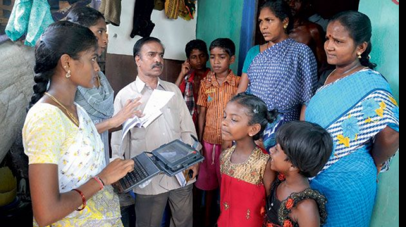The survey data showed that there are around 15,000 households of people who had migrated from Maharashtra in city. They are primarily located in Sultan Bazar, Jambagh and Nallakunta. (Representational image)