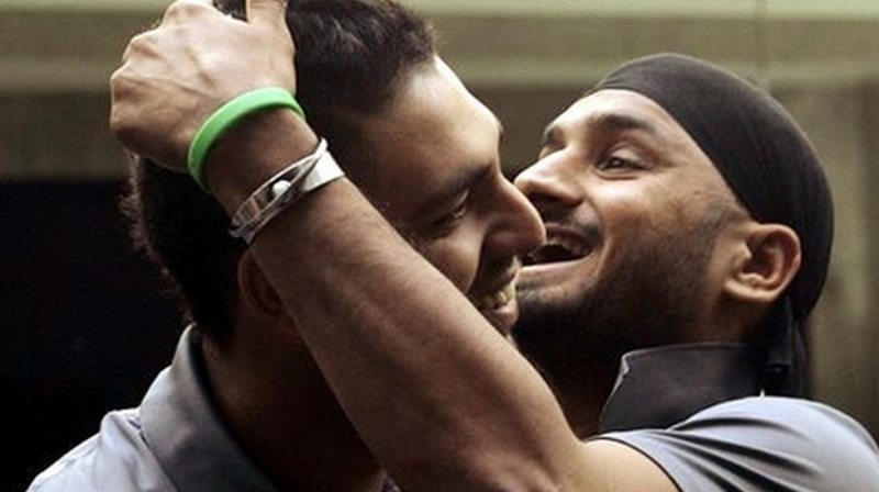 MS Dhoni's squad for the T20 series against Australia will see Yuvraj Singh and Harbhajan Singh together after a long time. (Photo: AP)