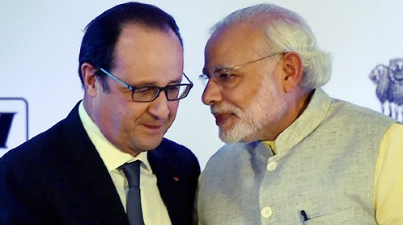 Indian and French negotiators on Friday debated the price of 36 combat planes designed to replace ageing Indian air force jets, officials of the two nations said. (Photo: AP)