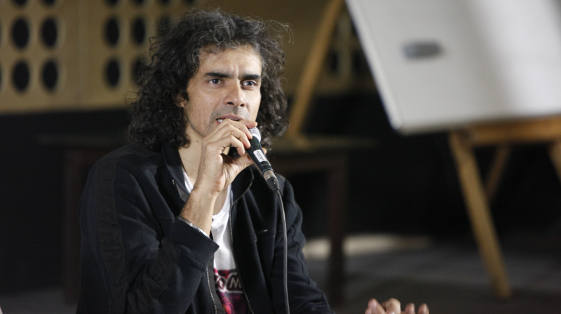 Budding filmmakers and writers got a chance to interact with the director, Imtiaz Ali at an event in Mumbai.
