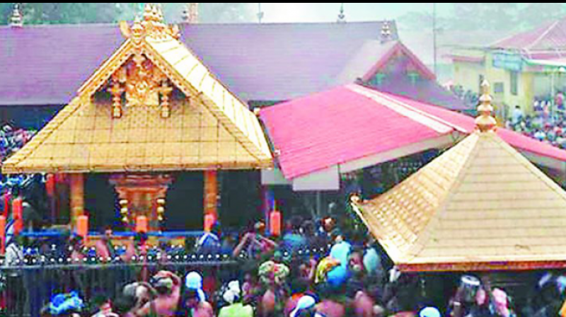 Ms Ammini has sought direction to Kerala to ensure safe passage for every women going to the Sabarimala temple without any hindrance from any source, including the state and its agencies.