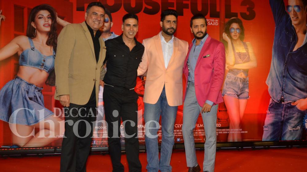 Housefull 3 cast celebrate film's success as it zooms past ...