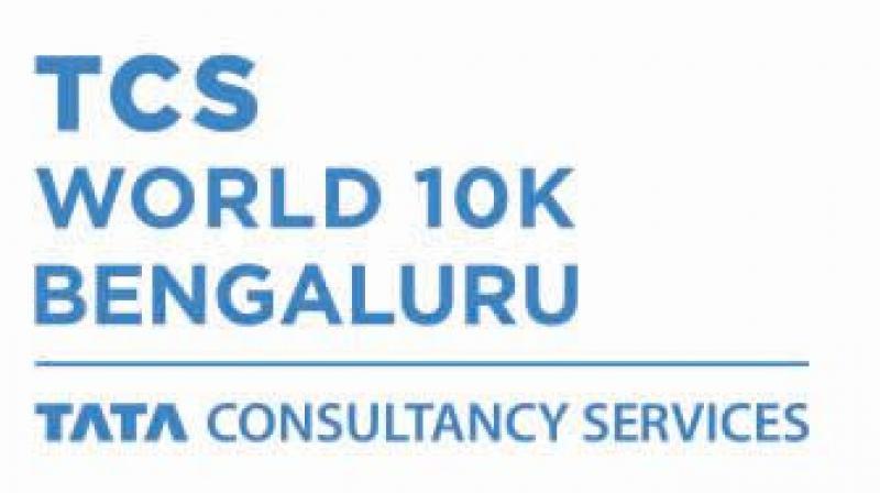 TCS World 10K logo