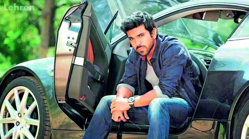 Ram Charan, who is playing a cop in the film that has tentatively been titled Dhruva, has already completed two schedules..