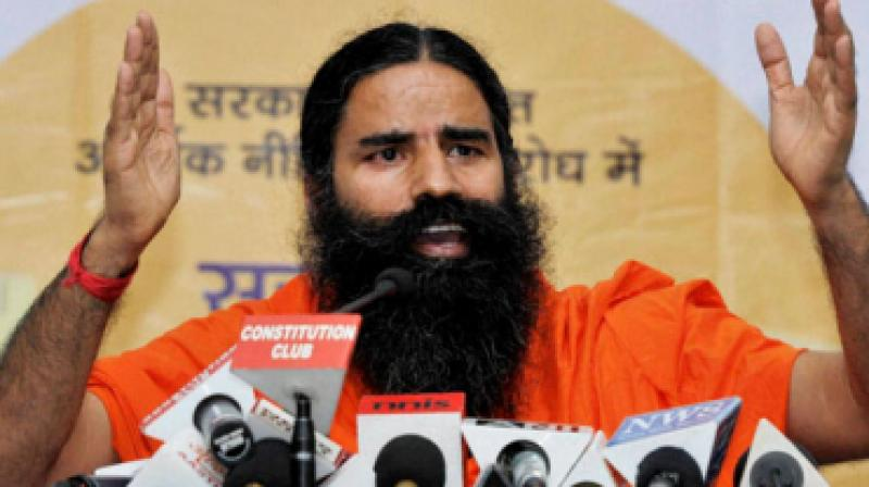 Patanjali group came second with around Rs 5,700 crore bid, including the infusion of about Rs 1,700 crore in the edible oil company. (Photo: PTI)