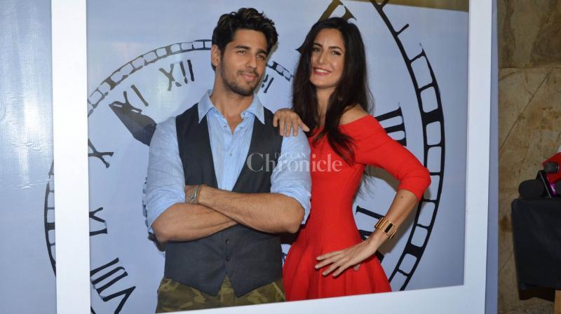 Sidharth Malhotra and Katrina Kaif begin their month long promotional campaign for Baar Baar Dekho.
