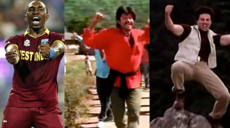 The video shows a compilation of famous dance moves of B-Town stars such as Nana Patekar, Anil Kapoor, Sunny Deol, Sanjay Dutt and others. (Photo: AP/Screengrab)