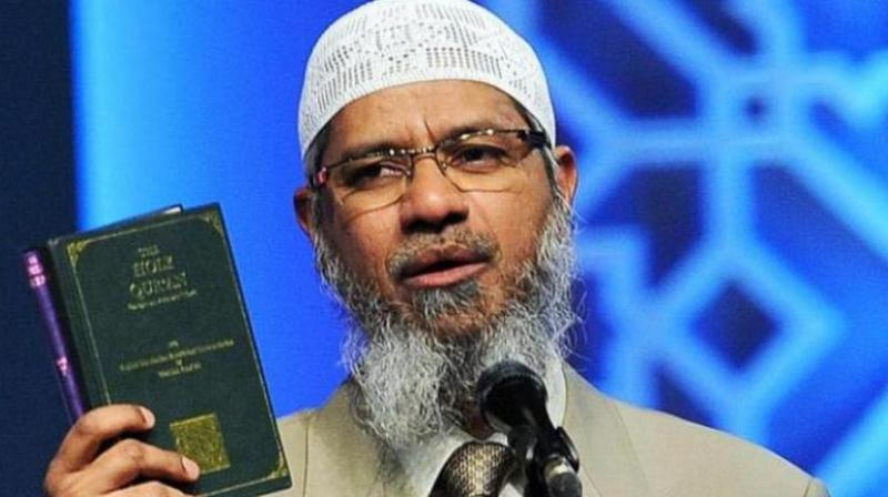 Televangelist Zakir Naik escaped from India on July 1, 2016, after Bangladeshi terrorists claimed that they drew inspiration from his speeches. (Photo: PTI)
