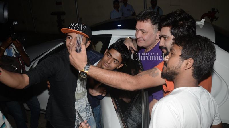 Rishi Kapoor was last seen in 'Kapoor & Sons'. (Pic: Viral Bhayani)