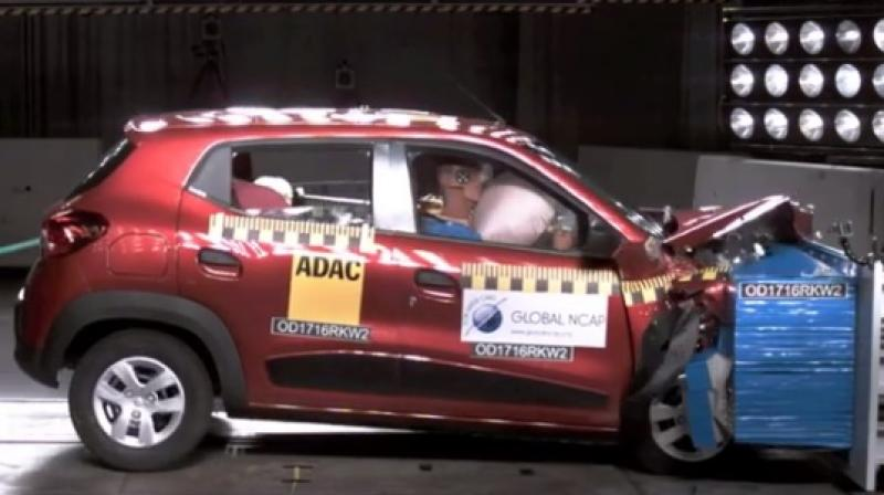 Global NCAP crash test has given zero star ratings to five Indian car models for being unsafe. (Photo: Global NCAP)